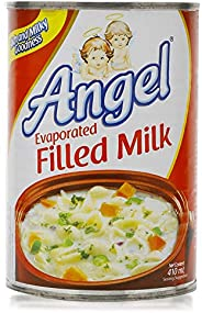 Angel Evaporated Filled Milk Liquid Condensed Milk, 410ml