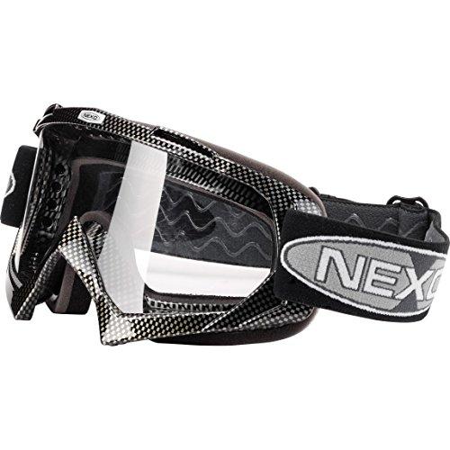 Helmbrillen Motorradhelm Nexo Profi Brille II Carbon
