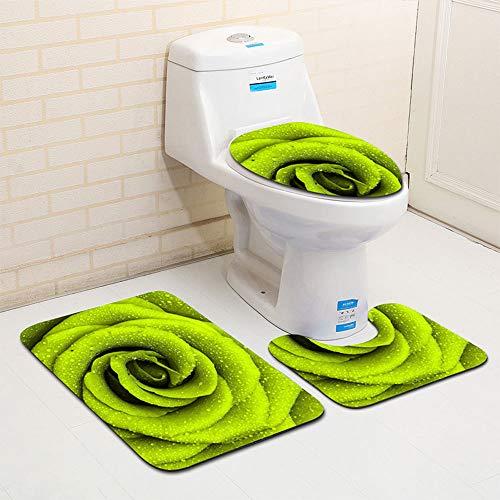 Zalock Teppich Badezimmermatte Fußmatten Absorbieren Von Wasser Staub Rutschfestigkeit Saugfähig Bequem Türmatte für Kann Unter Dem Tisch und Im Schlafzimmer Küche -