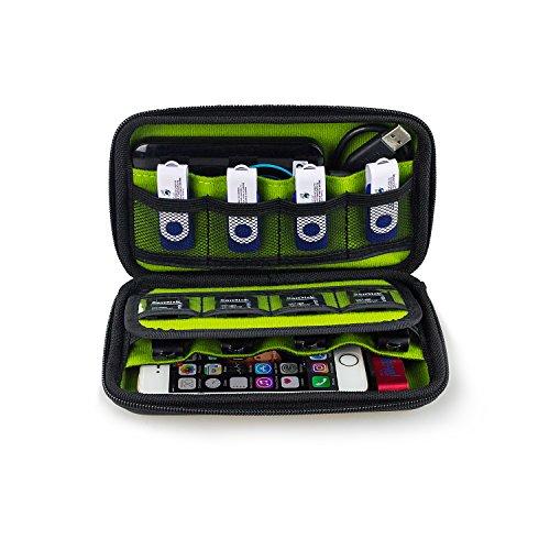Estarer Externe Festpaltte Tasche Aufbewahrungstasche für SD Karten und USB Stick Updated Test
