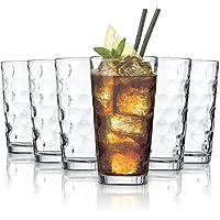Tivoli San Francisco vasos de agua/495 ml/conjunto de 6/gafas de alta calidad/Lavavajillas/vasos de cristal