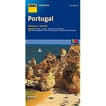 ADAC-Länderkarte: Portugal 1:300.000 (ADAC Länderkarten)