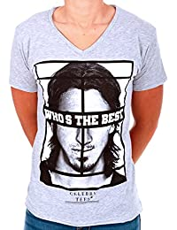 CELEBRY TEES T-shirt gris ZLATAN - Who the Best - Homme