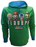 Cheapest Bioworld - Sweat-Shirt - Super Mario Bros - Players Vert - Taille XL - 8717973328889 on Clothing