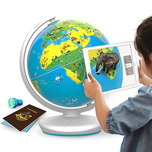 Jeux Educatif Orboot pour Enfant - Réalité Augmentée avec Globe sans frontière - Multi jeux - Quizz, Défis, Aventures
