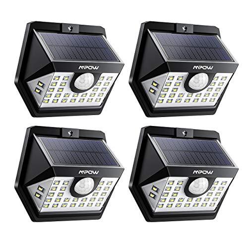 【3 Modes Intelligents】 Lot de 4 Mpow 30 LED Lampes...