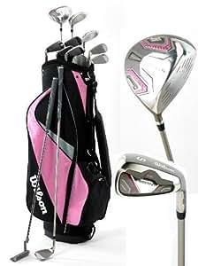 Wilson Prostaff HL Ladies Full Golf Club Set Cart Bag Golf Clubs New Graphite