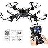 NUEVO ARTÍCULO – DRONE VOLADOR, Potensic® 5.8GHz FPV Monitor 4CH 6-Axis Gyro RC Quadcopter Drone con cámara HD, función de rotación en 3D