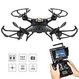 Potensic Drone con Telecamera, 5.8GHz FPV Monitor 4CH 6-Axis Gyro RC Quadcopter...
