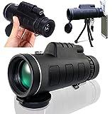 urchoiceltd® 2016Panda 40x 60Zoom HD de visión nocturna, lente verde Armoring telescopio monocular