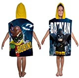 Pour enfants Lego Batman Hero Imprimé Poncho à capuche garçons filles Coton Poncho