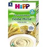 HiPP Bio-Getreidebrei Feine Hirse, 6er Pack (6 x 250g)