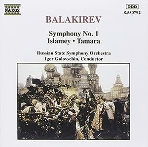 Symphonie n°1 en ut majeur / Tamara / Ismaley (orchestration Liapounov)