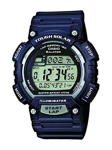 Casio Herren Uhr Digital mit Resinarmband STL-S100H-2A2VEF Casio Solar 2015