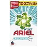 Ariel Vollwaschmittel Pulver mit der Frische von Febreze, 6,5 kg, 1er Pack (1 x 100 Waschladungen)
