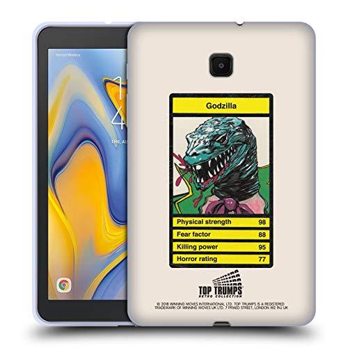Head Case Designs Offizielle Top Trumps Dinosaurier Horror Retro Soft Gel Huelle kompatibel mit Galaxy Tab A 8.0 (2018) -