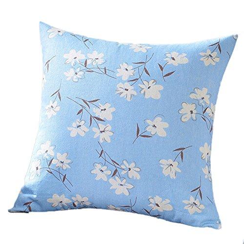 Wudube unica bella impronta fantastica moda cuscino casi cafe sofà coprire l'arredamento ben congegnata cuscino federa 45×45cm/18×18 pollice