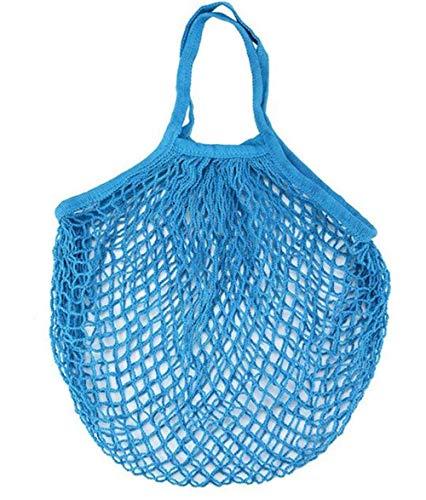 7f1b7254c3 Stockage à la maison Supermarché vert sac à provisions net coton tissé  maille sac net poche
