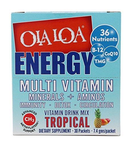 Ola Loa Energy Super Multi Tropical (1x30 Pkt) (Energie Multivitamin)