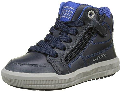 Geox Jungen J Arzach Boy F Hohe Sneaker, Blau (Navy/Royal), 32 EU