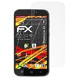 atFolix Folie für Blackview A5 Displayschutzfolie - 3 x FX-Antireflex-HD hochauflösende entspiegelnde Schutzfolie