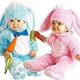 Bébé Garçons Filles rose ou bleu Lapin De Pâques lapin Halloween Déguisement Costume Tenue - Rose, 12-18 mois