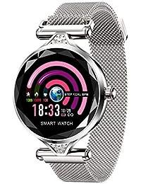 MObast Smartwatches Damen Mode H1 Frauen Blutdruck Pulsmesser Sport Smart Armband Uhr Schrittzähler