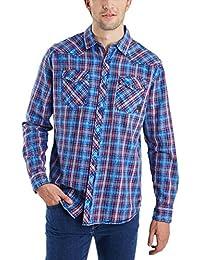 Pioneer Herren Freizeit Hemd Men Shirt