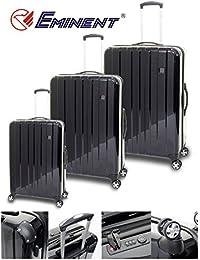 Eminent - Juego de maletas  unisex adulto negro negro large/Medium/Cabin Size