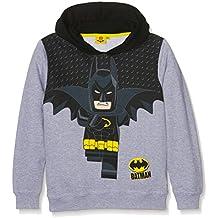 Sudadera gris con capucha de Batman de Lego