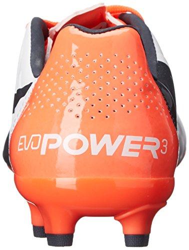 Puma Evopower 3.2 Firm Ground Soccer Bitta White/Total Eclipse/Lava Blast