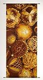 TEXTILBANNER Weihnachtsdeko Textilbild Digital-Banner Fotoprint Weihnachtsbild Poster Balthazar 75cm x 180cm
