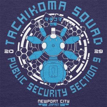 TEXLAB - Tachikoma Squad - Damen T-Shirt Navy