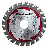 Einhell Hartmetall Sägeblatt passend für Universal Handkreissägen (110x22,2x1,4 mm, 24 Zähne)