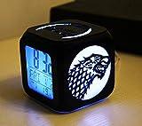 Tigerkopf Logo Licht Mode kreative 3D Stereo Cube USB kleine Wecker LED Nachtlicht Nachttischlampe Valentinstag Geschenk
