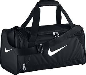 Nike Sporttasche Brasilia 6 Duffel Extra-Small, Black/White, 48 x 25.5 x 23 cm, 25 Liter, BA4832-001