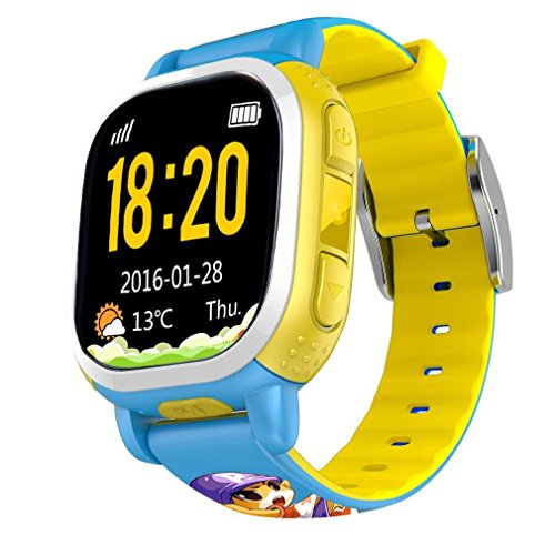 Preisvergleich Produktbild Tencent QQwatch GPS Tracker SOS Alarm Wifi Locating Kids Smart Watch Phone SMS steps Voice chat for Children Safe Security by Tencent