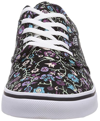 Vans W Atwood Low, Baskets mode femme Multicolore (Floral Black)