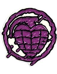 Thunder Skateboard Trucks Sonora toxine Grenade Sticker–Violet