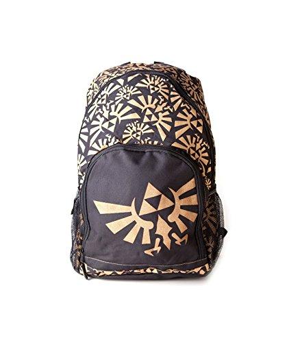 Nintendo Zelda Rucksack gold/schwarz Gourmet-rucksack