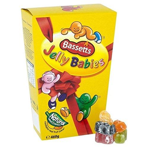 Bassetts Jelly Babies Carton 460G - Paquet de 6