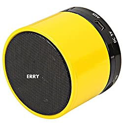 Erry S10 portable bluetooth speaker- Yellow