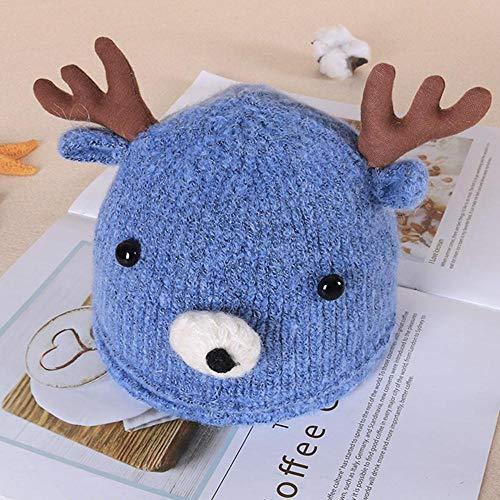 Myzixuan Baby Mütze herbst/Winter Baby GAP Kind Fawn wolle mütze Pullover Wintermütze -