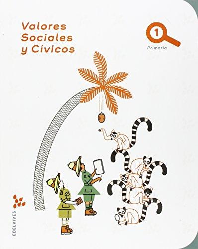 Valores Sociales Cívicos 1º Primaria - 9788426397447
