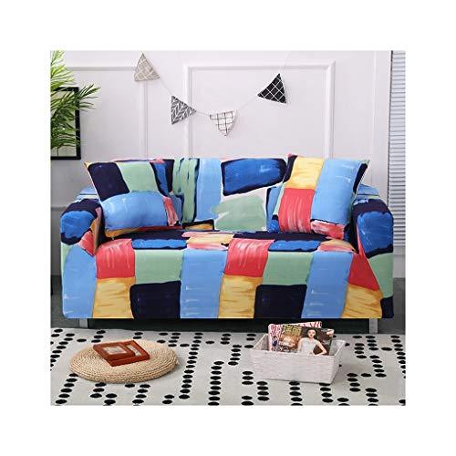WUFANGFF Slipcover Modello ad Acquerello Fodera per Divano Fodera per Divano Copridivano Sofa Furniture Protector, 4seat