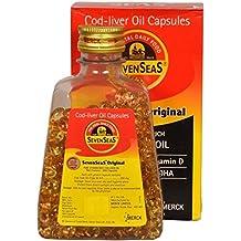 SevenSeas Original Cod liver Oil Capsules - 500 capsules