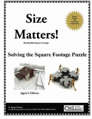 Preisvergleich Produktbild Size Matters - Residential Square Footage