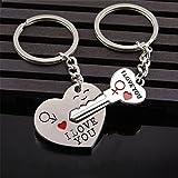 2pcs S¨¹?es Paar Keychain Love Keychain Schl¨¹sselanh?nger Valentinstag Geschenk f¨¹r Freund Freundin von TheBigThumb