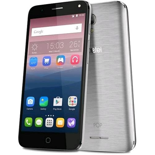 Alcatel 771614 Pop 4 Plus Smartphone da 16 GB, Marchio Tim, Argento [Italia]