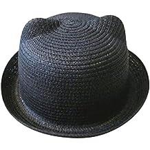❤️Amlaiworld Sombrero de Paja Playa Bebé niñas niño Gorro de Sol de Deporte  al Aire 00fa99cad92